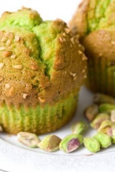 Easy, delicious and healthy Bulked Up Pistachio Nut Muffins recipe from SparkRecipes. See our top-rated recipes for Bulked Up Pistachio Nut Muffins. Muffin Recipes, Breakfast Recipes, Dessert Recipes, Breakfast Cups, Breakfast Potatoes, Just Desserts, Delicious Desserts, Yummy Food, Dessert Healthy