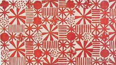 Jacqueline Groag textile pattern design
