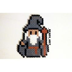 LOTR Gandalf perler beads by _beads_art