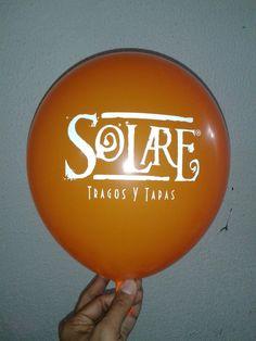 Globos Estampados Personalizados a 1 color para nuestro cliente @solare_sc.  #globos #servilletas #estampados #tarjeteria #invitaciones #bodas #15años #bautizo #cumpleaños #eventos #franelas #serigrafia