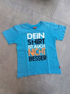 Mein Tolles T-Shirt mit coolem Spruch / Gr. Informations About Mein Tolles T-Shir T Shirt Designs, Shirts With Sayings, Cool Tees, Lol, Cool Stuff, Quotes, Mens Tops, Bass, Profile