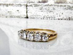 Vintage Diamond Wedding Band 0.50ctw by LadyRoseVintageJewel