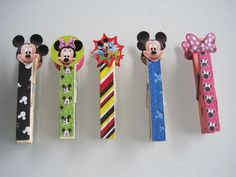 D.I.Y. Custom Clothespins and Picture Frames
