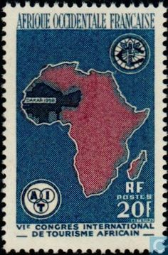 1958 AOF French West Africa - Congress African Tourism