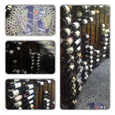My home wine cellar. Home Wine Cellars, Birthday Numbers, Wine Rack, Wines, Led, Home Decor, Decoration Home, Room Decor, Wine Racks