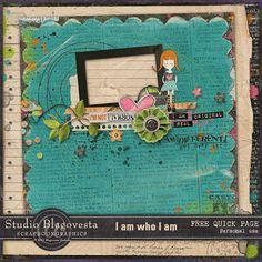 Blagovesta Gosheva Blog: I Am Who I Am - new kit in my Studio