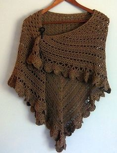 Arya's Escape Shawl: free pattern by vintagegrammiephotographer