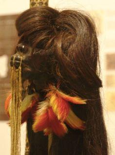 Shrunken head or tsantsa