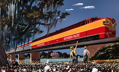 Southern Pacific Sunset Limited, 1950
