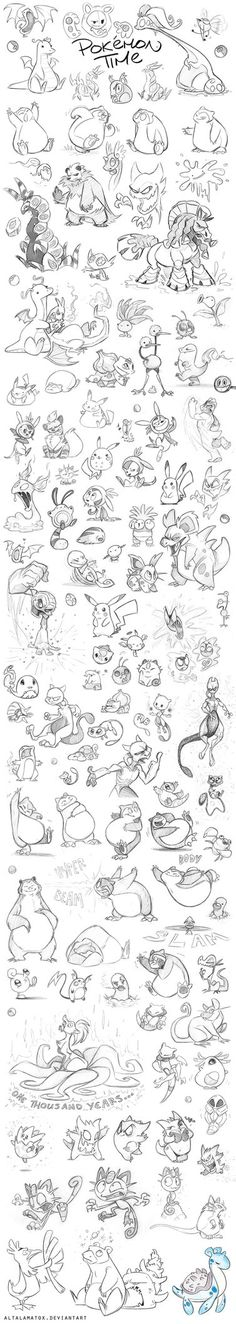 It has been the year of the Pokemon, and I have had these critters on the brain.