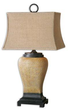 Uttermost Melitta Ceramic Table Lamp 26540
