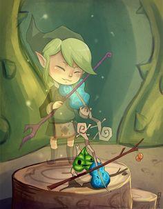 The Legend of Zelda: The Wind Waker, Fado and Makar / Fado and Makar by Rosana127 on deviantART