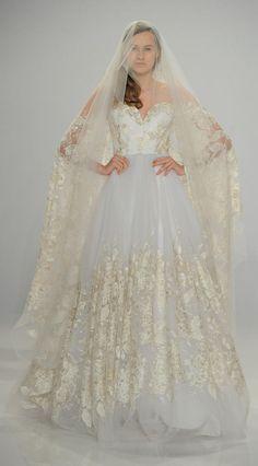 Christian Siriano Spring 2017 | https://www.theknot.com/content/christian-siriano-wedding-dresses-bridal-fashion-week-spring-2017