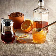 Hormel's Orange Bourbon Ham Glaze paired with Clos du Bois Pinot Noir