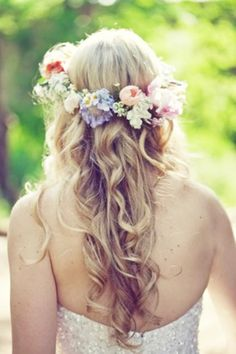 pastel wedding - flower headwear - bridal hair - brides of adelaide magazine