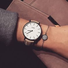 Life isn't perfect but your outfit can be  #cluse #glitzer #luna #fashion #watch #new #armkette