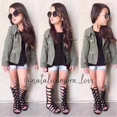 Little gIrl fashion☻ Baby Girl P Fasion - Cute Little Girls Outfits, Little Kid Fashion, Cute Kids Fashion, Baby Girl Fashion, Toddler Fashion, Toddler Outfits, Child Fashion, Fashion Styles, Fashion Boots