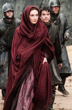 Carise van Houten as Melisandre in Game of Thrones #GoT