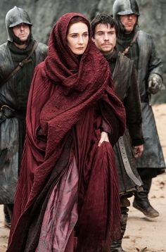 Carise van Houten as Melisandre in Game of Thrones #GoT