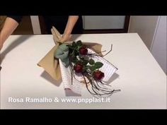 Wrapping a plant - YouTube