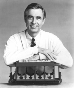 Although he's no longer with us, Mr. Rogers' wisdom continues to inspire us all. Here's a wonderful story about how one of his quotes inspired hope following the Boston Marathon attacks: http://newsfeed.time.com/2013/04/16/in-the-wake-of-the-boston-marathon-attacks-mr-rogers-quote-spreads-hope-across-the-internet/.