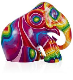 Painted by  Solange Azagury-Partridge  Topographant, London Elephant Parade