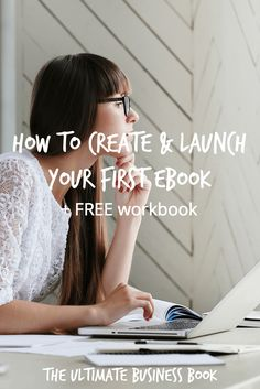How To Create & Launch Your First Ebook. Learn the exact process I use to create an ebook in three or less days. Oh, and did I mention you can get an awesome FREE workbook with this post? Get it now!