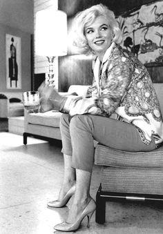 Marilyn Monroe photographed by George Barris in 1962.