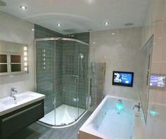 badezimmereinrichtung trends high tech badezimmer smart badewanne tv - Fantastisch Badezimmereinrichtung