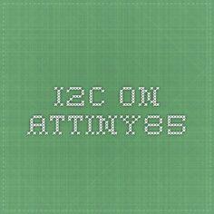 I2C on attiny85