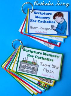 Could be addapted to other denominations.....Change for Episcopal Rite I? ...... Catholic Scripture Memory- Prayers and The Mass