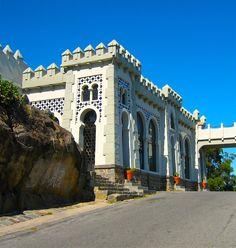 Castillo Morisco en el Parque de la Independencia. Tandil. Provincia de Buenos Aires, Argentina