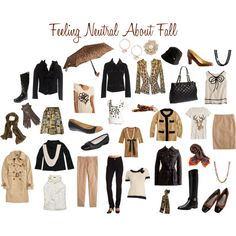 Feeling Neutral About Fall, created by hexicon on Polyvore
