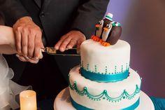 Teal & Silver wedding recap (pic heavy) - Weddingbee