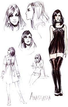 Anastasia by Fiona Staples [ Mystery Society ]