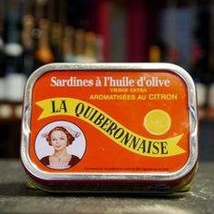 Sardinen in Olivenöl und Zitrone, La Quiberonnaise