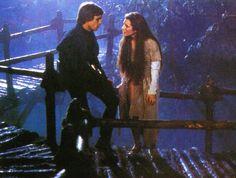 Princess Leia Organa and Luke Skywalker from Star Wars Episode 6 Return Of The Jedi