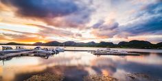 """The Beautiful Lysøysund, Norway - This photo comes from a geophysical geological excursion that I had in august 2015.  I woke up early to have the sunrise. Hope you like it :)  Please feel free to check my photos here or find me by: <a href=""""http://www.aziznasutiphotography.com/"""">