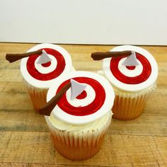 Have an axecellent birthday with these woodcutter's cupcake toppers. Fun Cupcakes, Cupcake Toppers, Delicious Food, Birthday, Desserts, Cool Cupcakes, Tailgate Desserts, Birthdays, Deserts