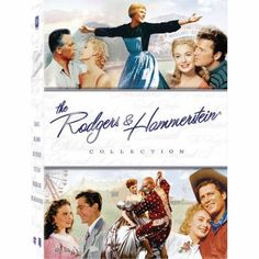 RODGERS & HAMMERSTEIN COLLECTION - DVD - You'll watch them again and again! •South Pacific •The King and I •Oklahoma •State Fair •Carousel •The Sound of Music