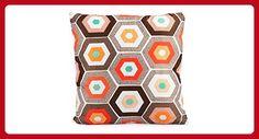 "Kardiel PLW-COPENHAGEN-48X48 Modern Throw Accent Decorative Pillow,Copenhagen,19"" X 19"" - Improve your home (*Amazon Partner-Link)"