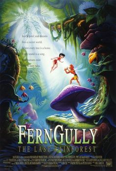 Ferngully <3 possibly my favorite childhood movie.