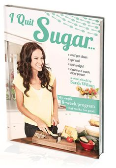 """""""I quit sugar"""" ebook Maybe I should try this... just try it"""