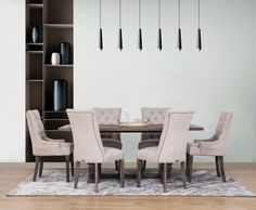 Choosing the right dining room set will help you create the perfect dining experience for your family and friends. Dining Chairs, Dining Room, Dining Table, Lakeside Mall, 7 Piece Dining Set, Modern Country, Or Antique, Room Set, Solid Oak