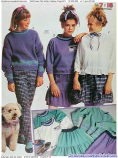 1988 Sears Fall Winter Catalog, Page 561 - Christmas Catalogs & Holiday Wishbooks 80s And 90s Fashion, College Fashion, Retro Fashion, Vintage Fashion, 80s Womens Fashion, Decades Fashion, Kleidung Design, 80s Outfit, Fashion Catalogue