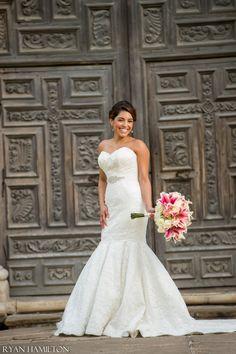 Bridal Portrait at Mission San Jose