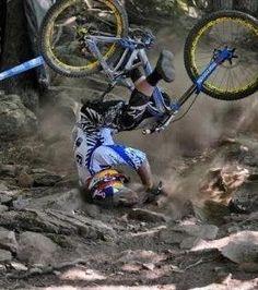 major mountain bike crash