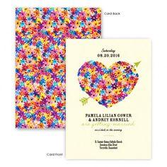 Maysie Floral Wedding Invitations