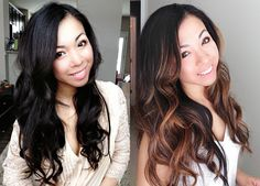 #ombre and #balayage #brunette solo salon-chicago