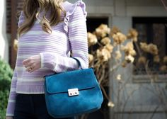 Fairly Yours | Chicago based life and style blog: lavender ruffles